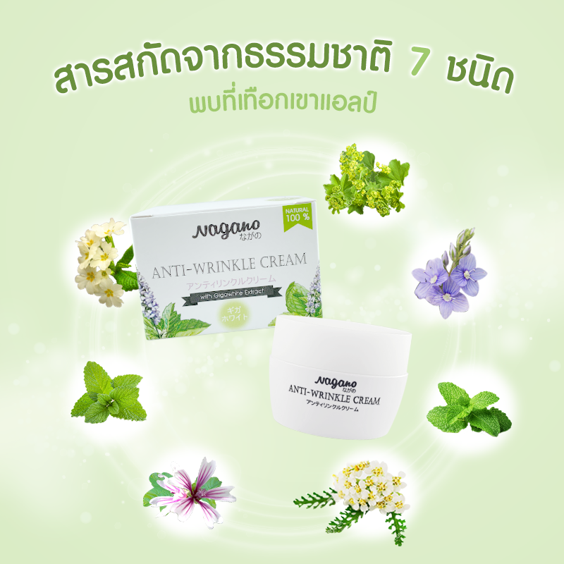 NAGANO ANTI - WRINKLE CREAM